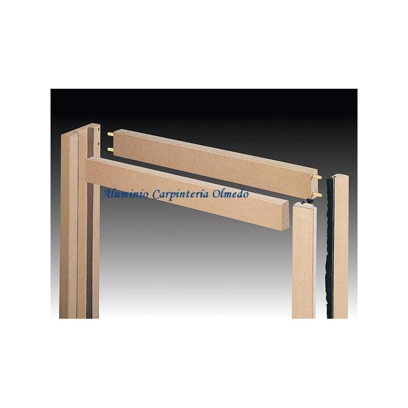 Comprar marco interior puerta simple for Marco puerta madera
