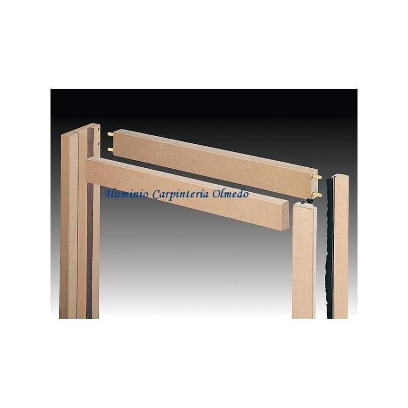 Comprar marco interior puerta doble for Marcos de madera para puertas