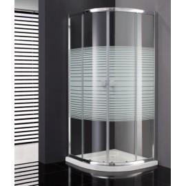 Mamparas de ducha GME Titan semicircular