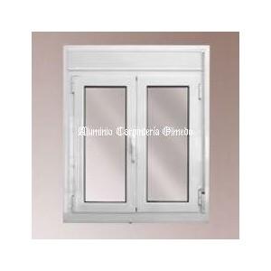 comprar ventana abatible aluminio blanco