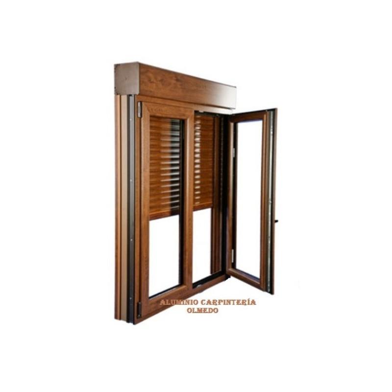 Comprar ventana abatible aluminio nogal - Comprar ventanas baratas ...