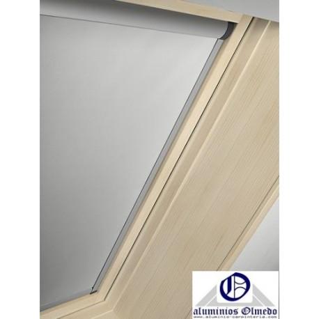 Cortinas oscurecimiento ventanas de tejado roto persiana for Persiana velux manual