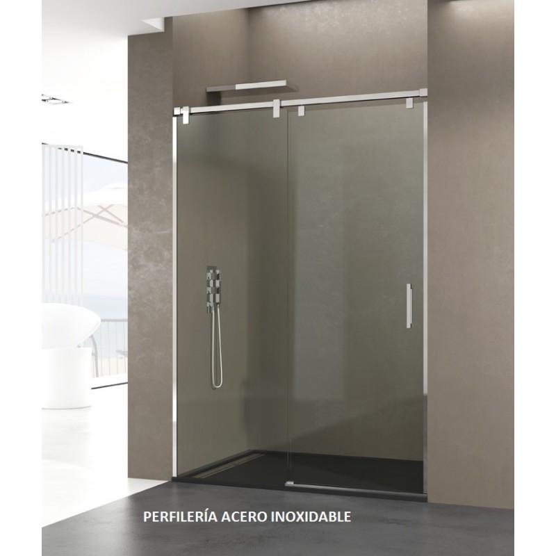 Precios mampara de ducha inoxidable modelo futura - Mamparas frontales de ducha ...