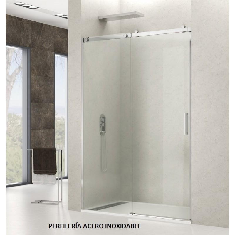 Precios mampara de ducha inoxidable modelo rotary for Mamparas para duchas fotos