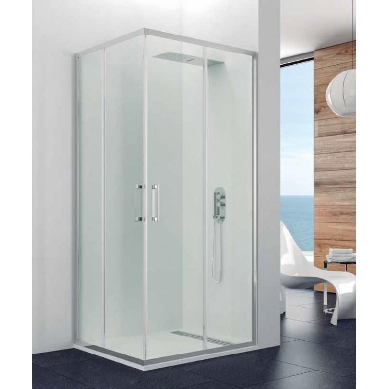 Comprar mampara de ducha prestige angular for Mamparas de ducha 80x80