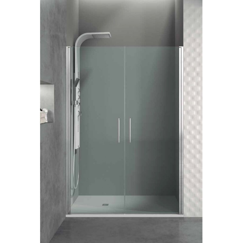Precios mampara de ducha open 2 hojas - Mamparas abatibles para ducha ...