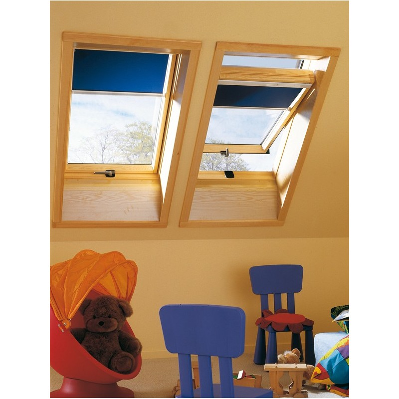 cortinas resorte color especial para ventanas de tejado roto