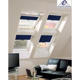 Cortinas oscurecimiento Decor para ventanas de tejado Roto