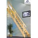 Escalera recta madera Maydisa modelo Lisbon