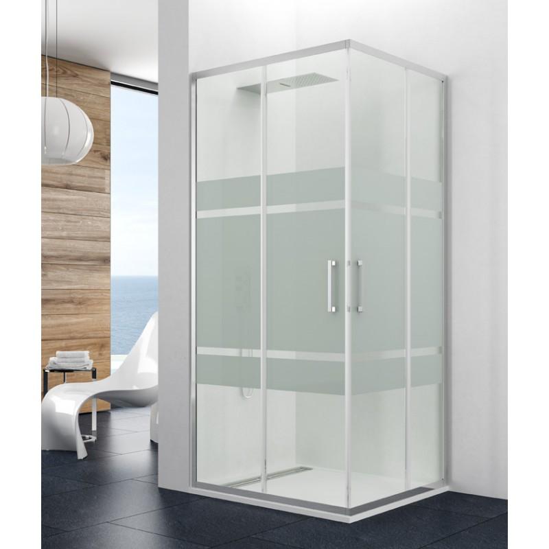 precios mampara angular ducha gme prestige titan vidrio