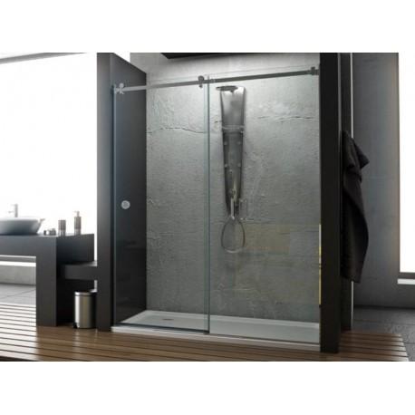 Mampara de ducha Oder perfil acero inoxidable
