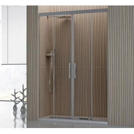 Mampara de ducha cuatro hojas modelo Tamesis