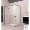 Mampara ducha angular corredera Doccia modelo ST Austin