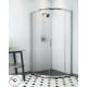 Mampara ducha semicircular Doccia modelo Sao Paulo