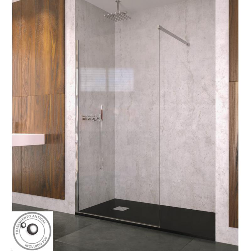 Tienda mampara de ducha doccia modelo mindano ofertas - Mampara fija ducha ...