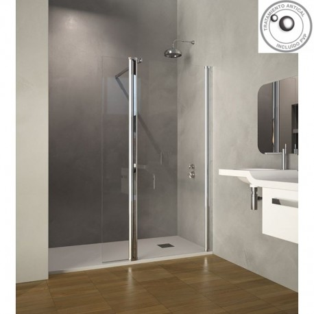 Precios mampara fija de ducha doccia modelo chicago - Mamparas de bano fijas ...