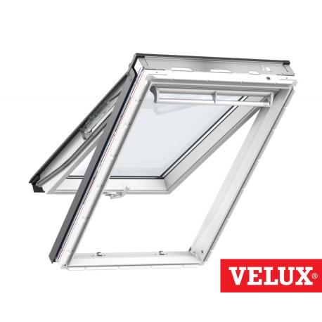 Ventana Velux proyectante GPU 0070 poliuretano blanco y vidrio laminado seguridad