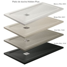 Plato de ducha GME modelo Hidden Plus marco oculto