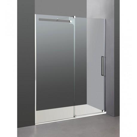 Mampara de ducha acero inoxidable GME modelo Vetrum