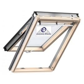 Ventana VELUX proyectante GPL 3070 madera y vidrio laminado seguridad