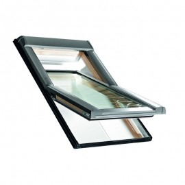Ventanas de tejado Roto R48S pivotante vidrio seguridad