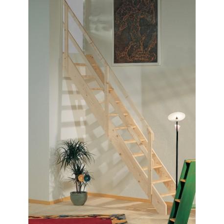 Escalera recta madera Maydisa modelo Normandia