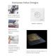 Ventana VELUX giratoria GGL Integra® 206821 pintada blanca y vidrio aislamiento térmico