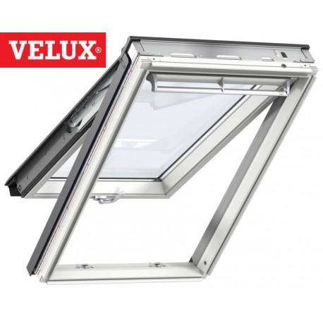 Ventana VELUX proyectante GPL 2068 blancas y vidrio máximo aislamiento