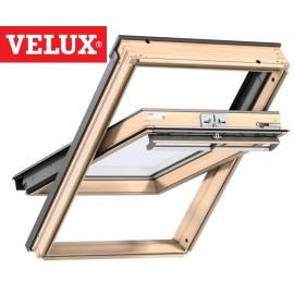 Velux ventana giratoria GGL 3070 madera y vidrio laminado seguridad