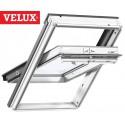 Ventana VELUX giratoria GGL 2067 blancas y vidrio Power Efficiency