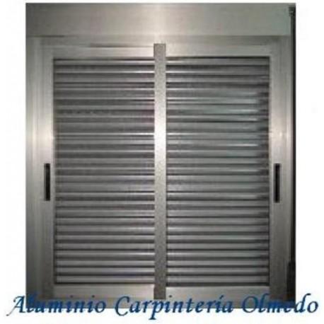 COMPRAR VENTANA ALUMINIO CORREDERA INOXIDABLE