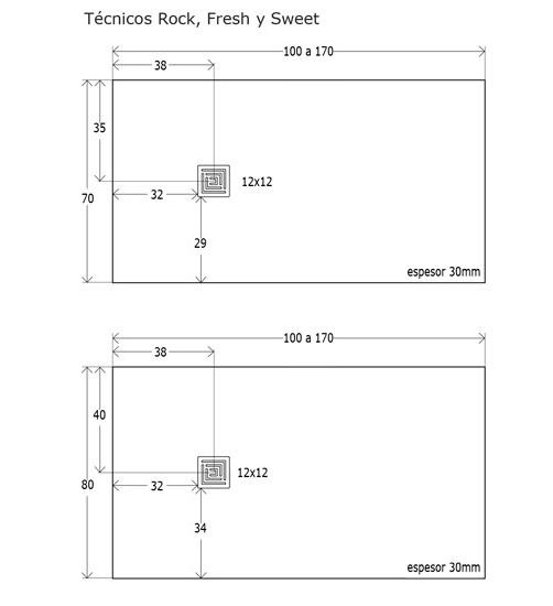 Platos de ducha medidas y precios simple esfera plato de - Medidas de los platos de ducha ...